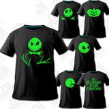 The Nightmare Before Christmas Glow In The Dark T-Shirt In 6 Designs