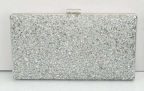 Rhinestone Crystal Clutch Purse