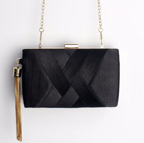 Classic Style Small Evening Clutch Purse - Amazing Steals N Deals