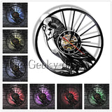 Birds Vinyl Record Wall Clock In 5 Designs