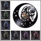 Angel & Cherubs Vinyl Record Wall Clock In4 Designs