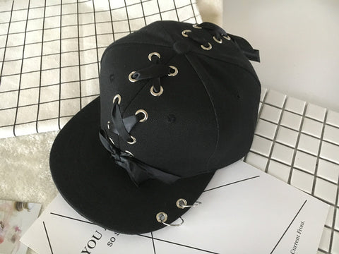 Lace And Hoop Hip Hop Baseball Cap
