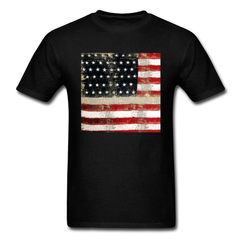 American Flag In 10 Different Color T-shirt