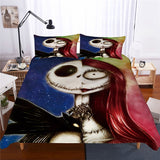 Jack And Sally Duvet Bedding Set