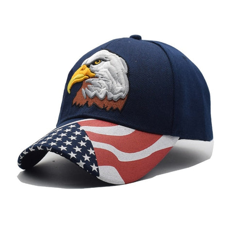 USA Patriotic Themed Baseball Hat In 12 Designs