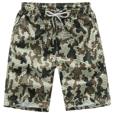 Quick Drying Men Bermuda Shorts 2 Designs