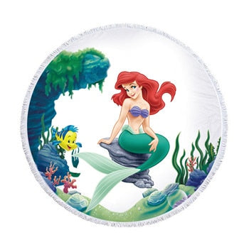 Ariel Round Beach Towel In 3 Designs