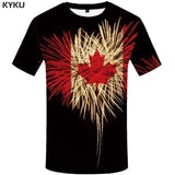 Canada Maple Leaf 3D T-Shirt In 3 Designs