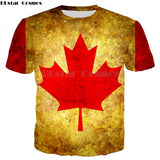 Canadian Flag 3D T-Shirt
