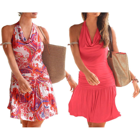 Halter Sundress In 2 Designs