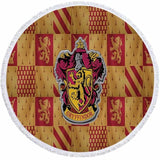 Harry Potter Theme Round Beach Towel In 19 Designs