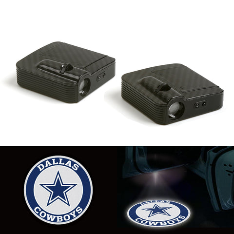 Dallas Cowboys Wireless Car Door LED Laser Projector Light 12V
