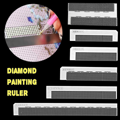 Stainless Steel Ruler Diamond Drawing Tool For Round Or Square Drill