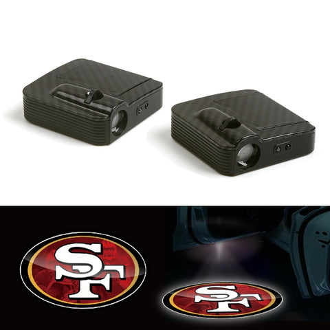 San Francisco 49ers Wireless Car Door LED Laser Light Projector