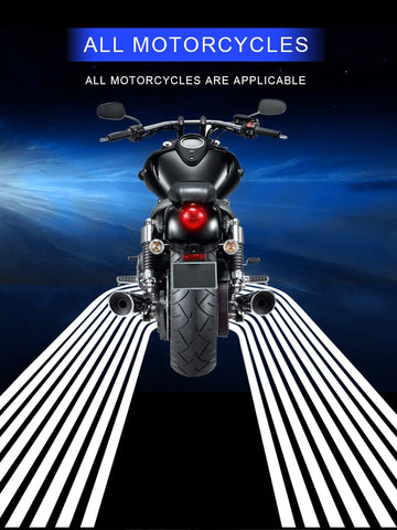 Motorcycle Angel Wings LED Laser Projector Light