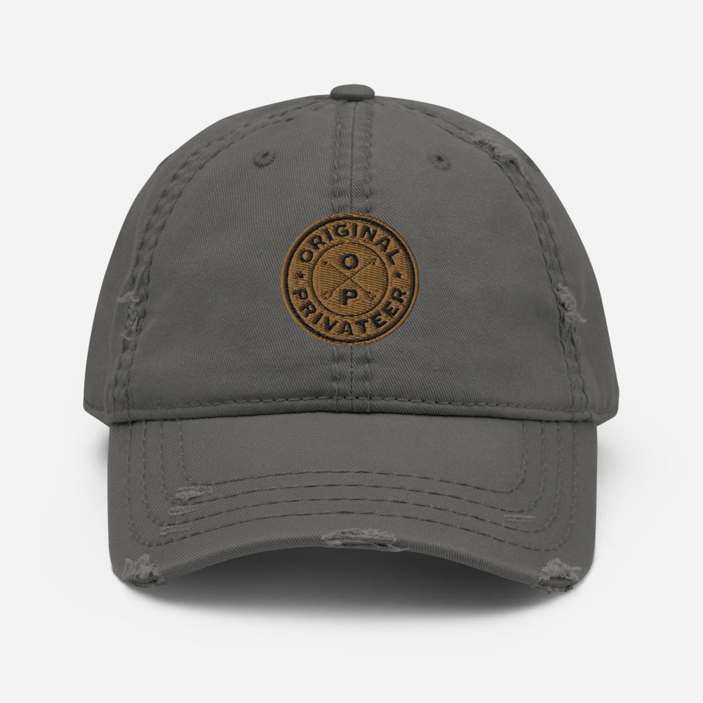 Seek Adventure Lifestyle Distressed Dad Hat