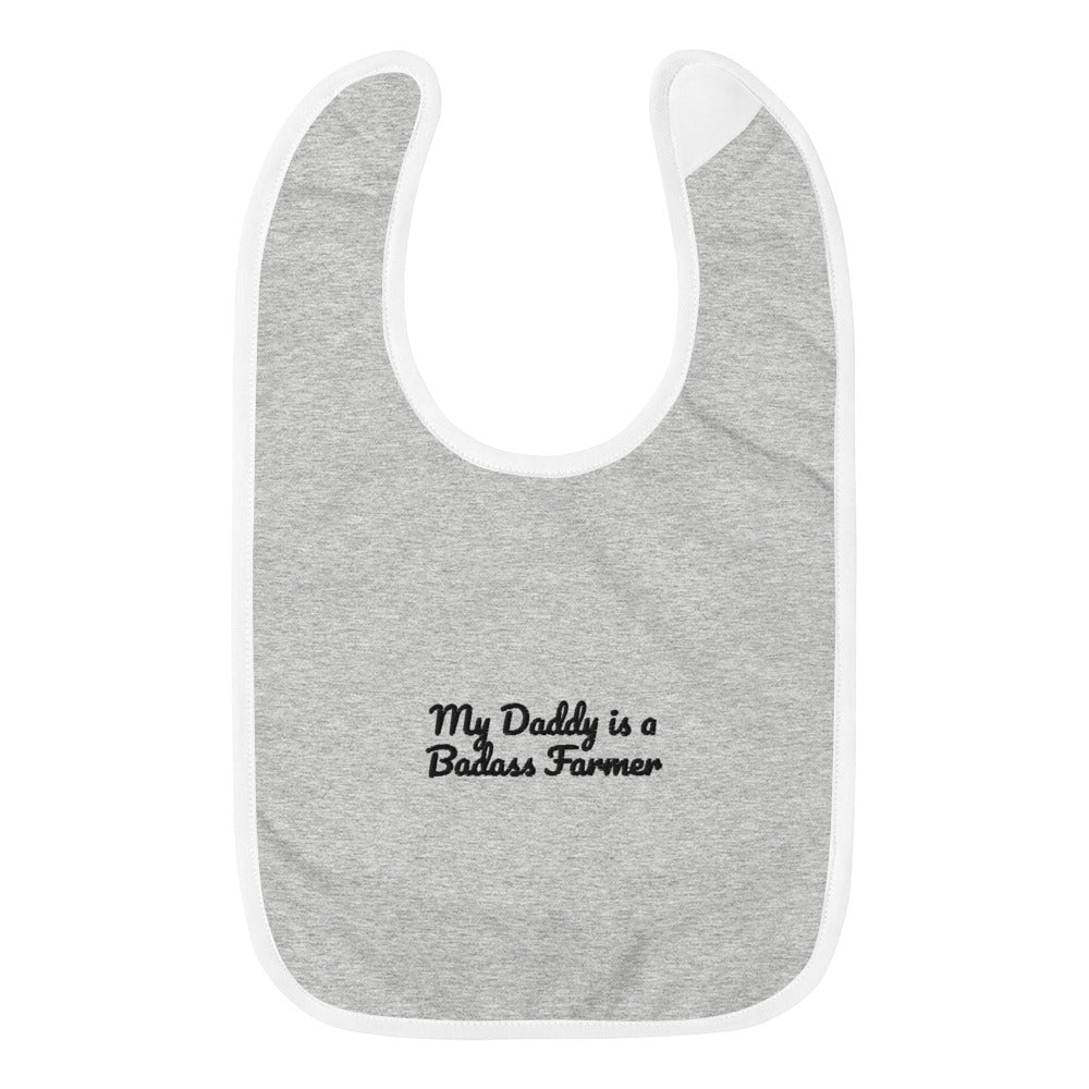 Brack Farms Embroidered Baby Bib
