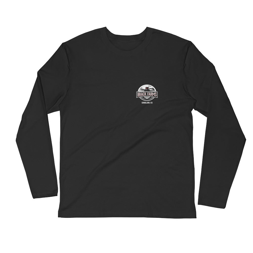Brack Farms - Long Sleeve Fitted Crew