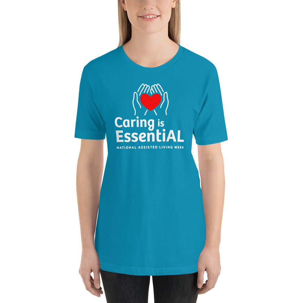 Assisted Living Week - Unisex Premium T-Shirt | Bella + Canvas 3001