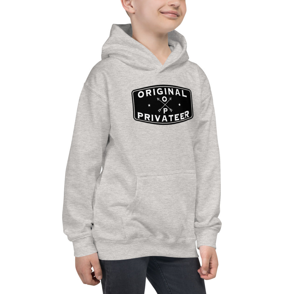 Risk Taking Adventurer Kids Hoodie