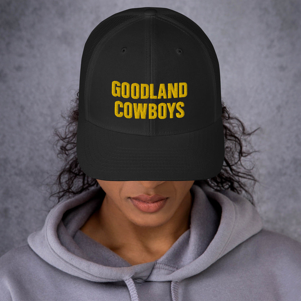 Goodland Cowboys gld Trucker Cap