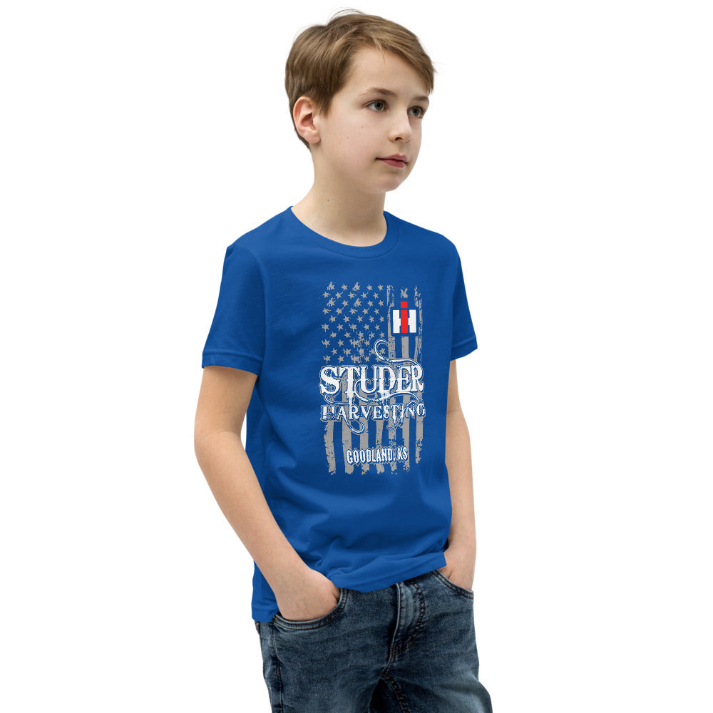 Studer Harvesting Youth Short Sleeve T-Shirt