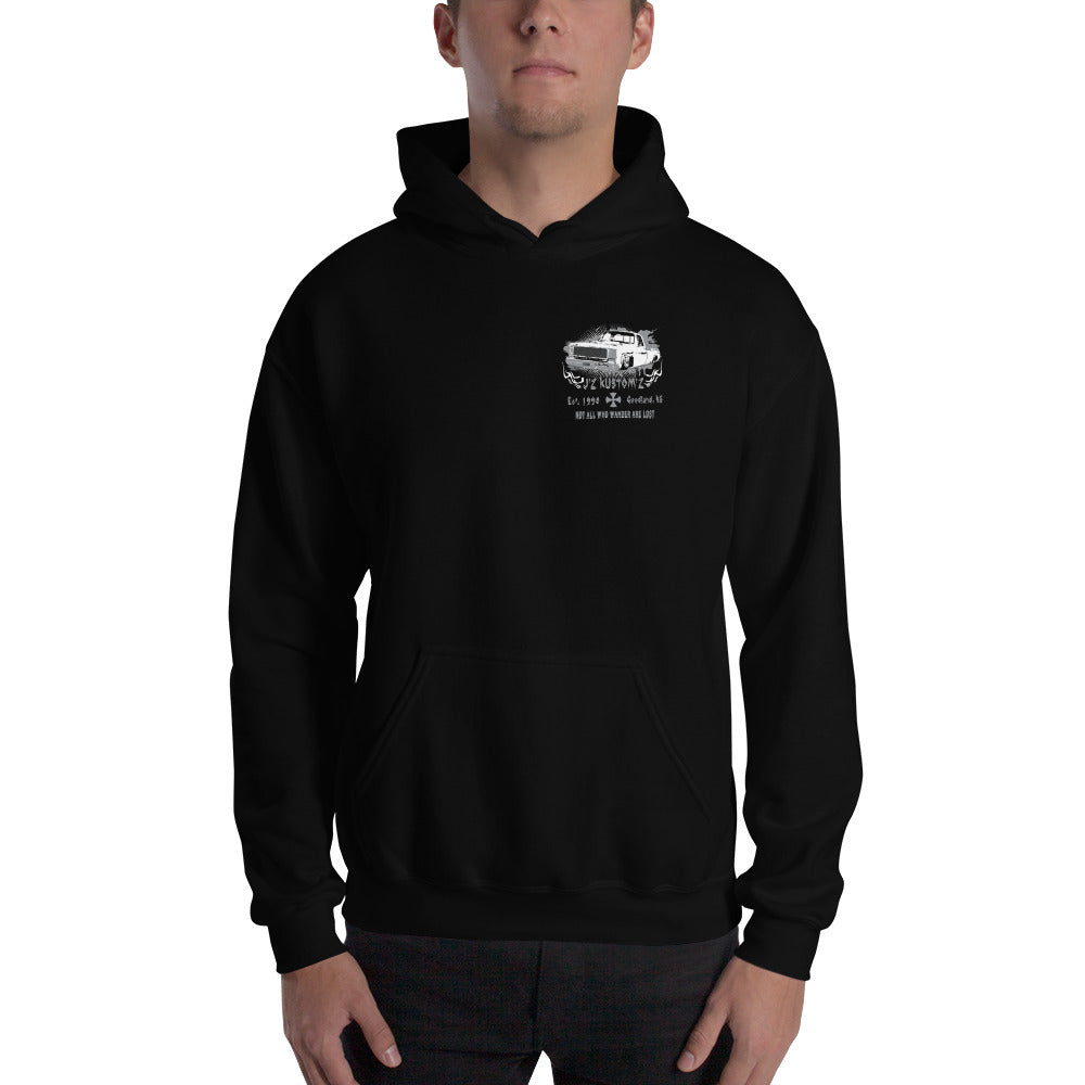 Square Body Dropped Chevy Hooded Sweatshirt