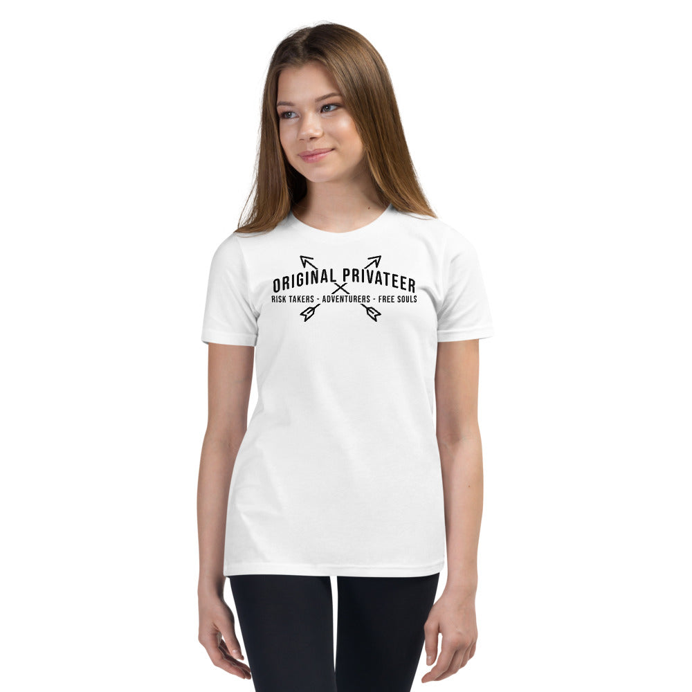 Risk Takers Adventurers Free Souls Youth T-Shirt