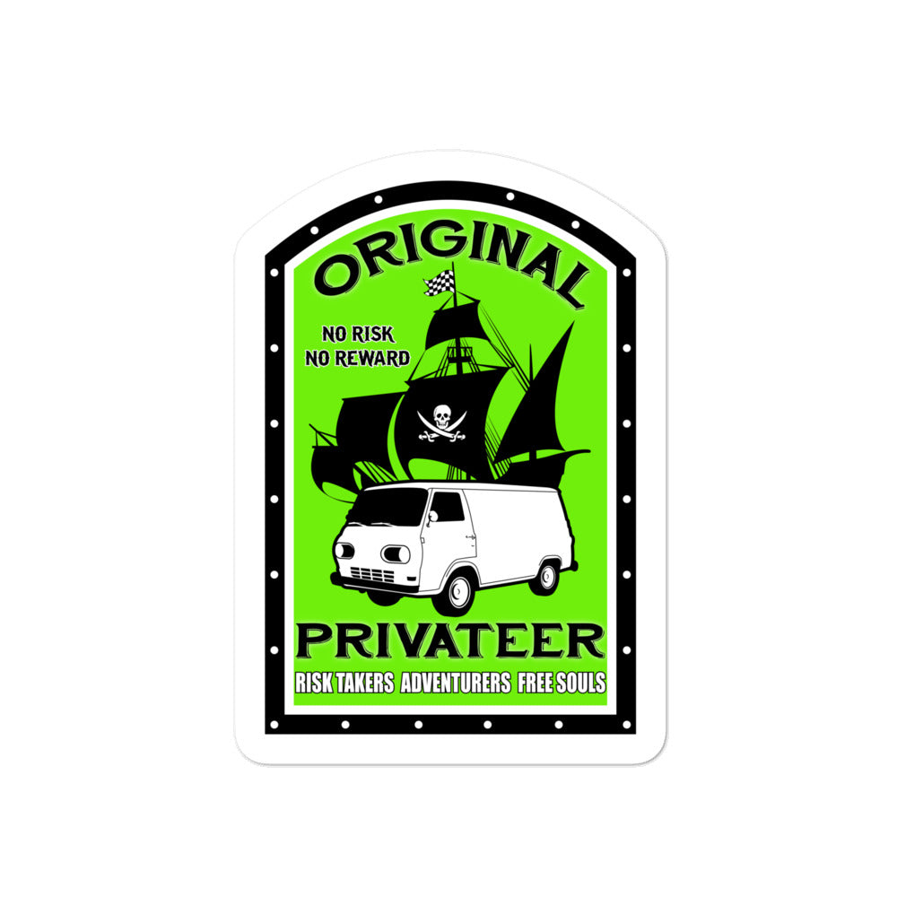 Original Privateer Shaka - Bubble-free stickers