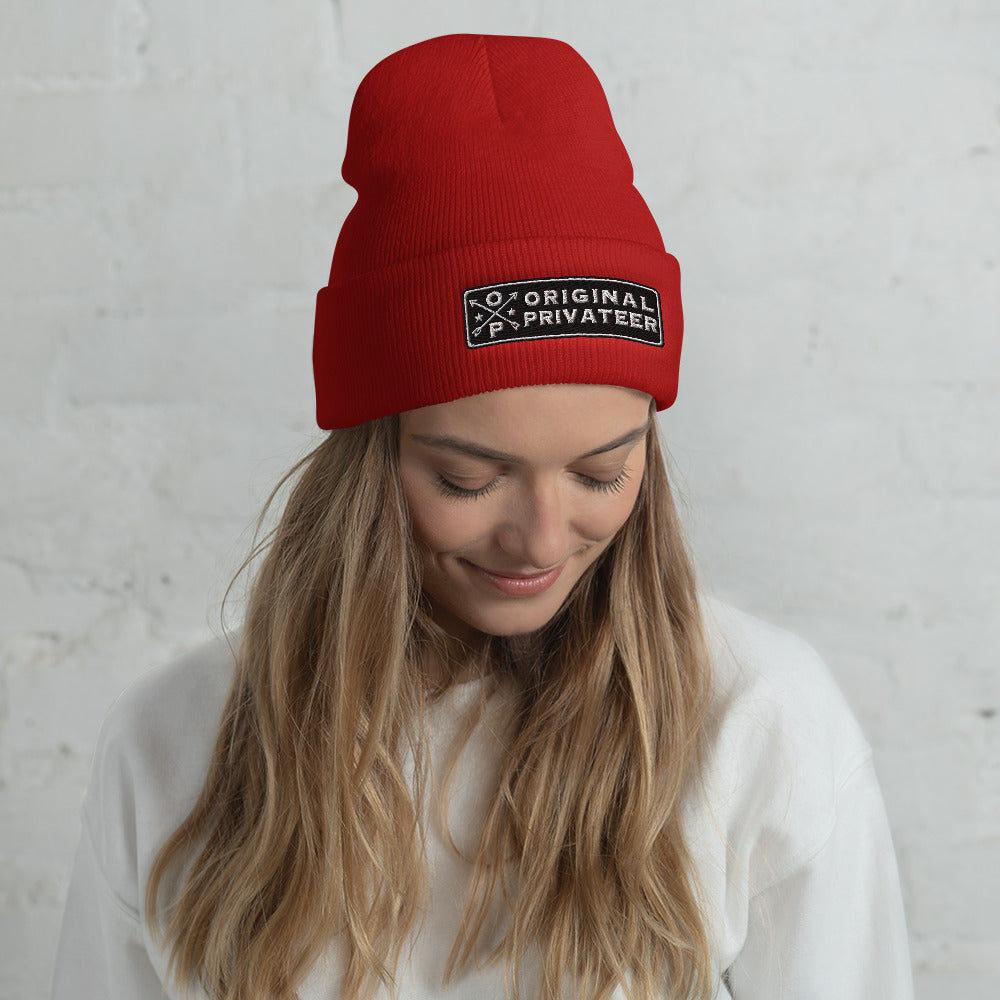 Seek Adventure - Cuffed Beanie