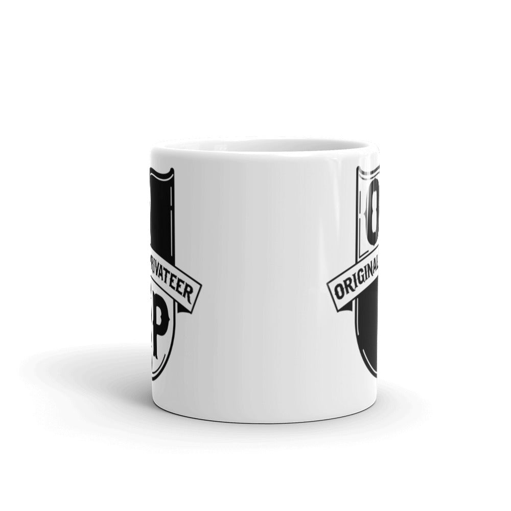 Original Privateer - OP Shield Mug