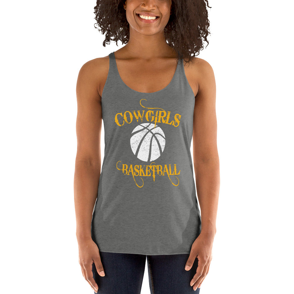 Goodland GHS Cowgirls Basketball Racerback Tank