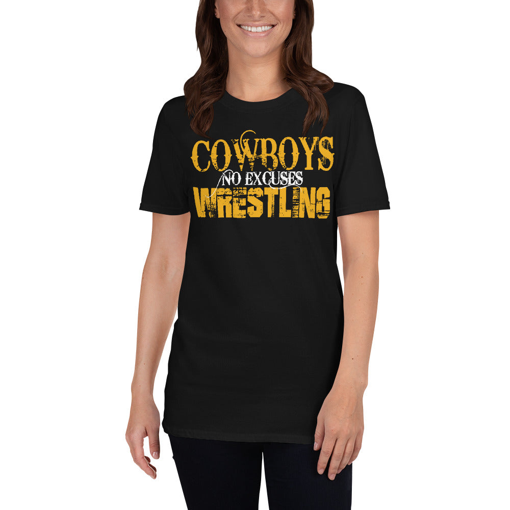 Goodland Cowboys Wrestling no excuses T-Shirt