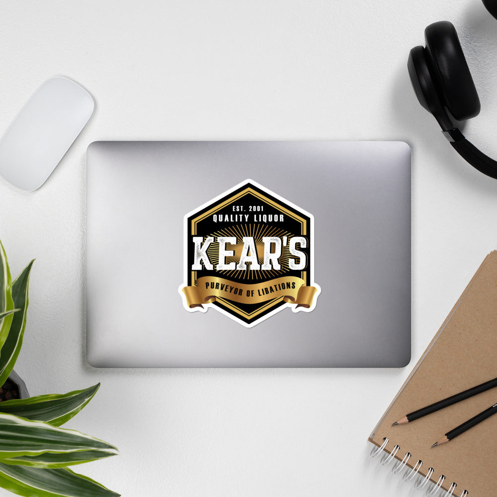 Kears - Bubble-free stickers