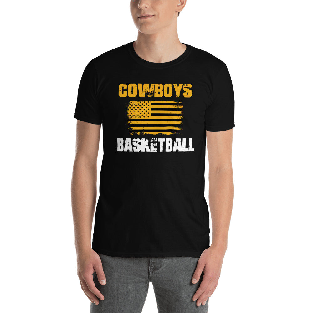 GHS Goodland Cowboys America Basketball T-Shirt