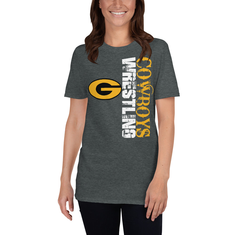 Goodland Cowboys Wrestling vertical T-Shirt