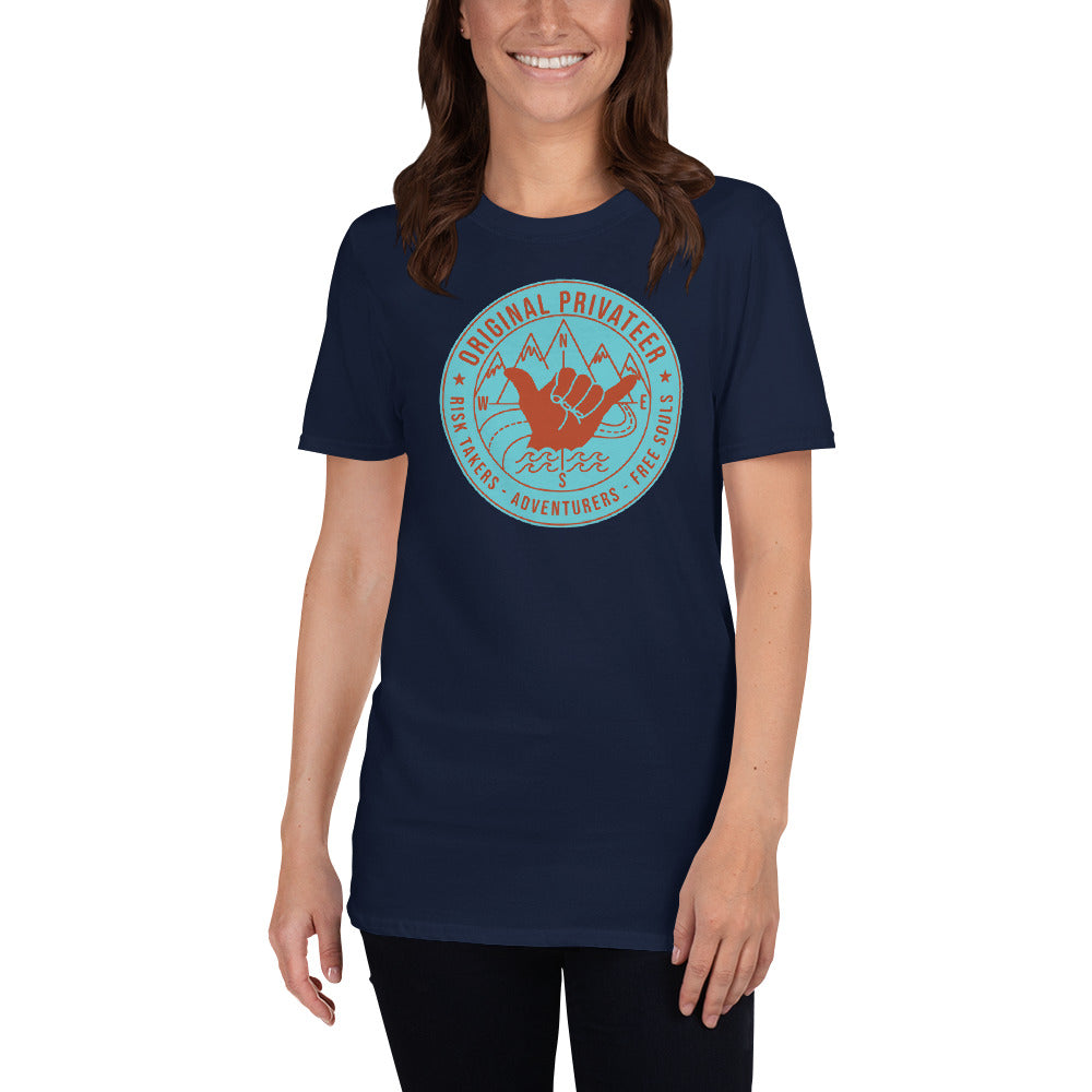 Surf Skate Moto Risk Taker Society T-Shirt