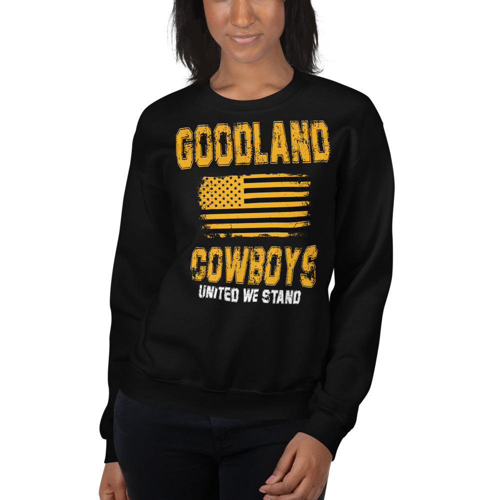 Goodland Cowboys United We Stand Sweatshirt