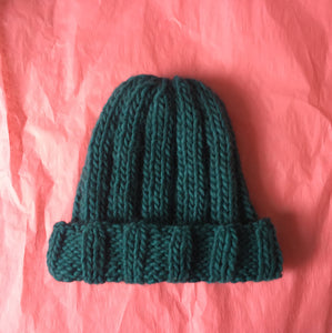 Chunky Ribbed Hat Pattern