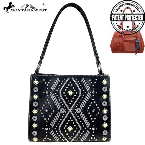 MONTANA WEST AZTEC CONCEALED CARRY HOBO BAG