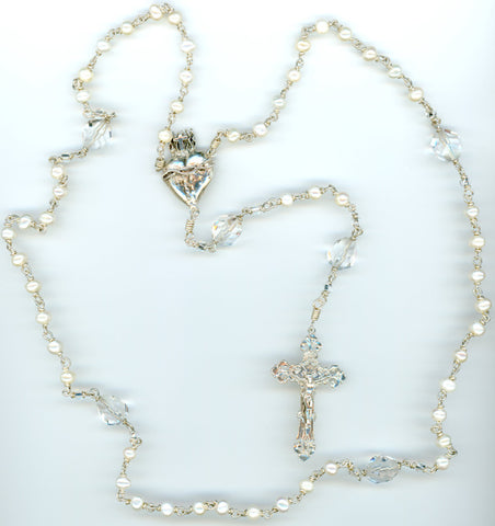 Fresh Water Pearl Rosary