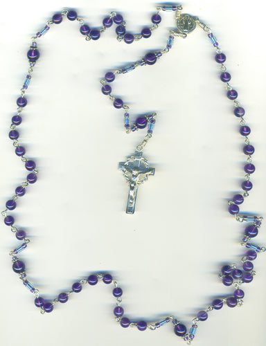 Amethyst Rosary Beads