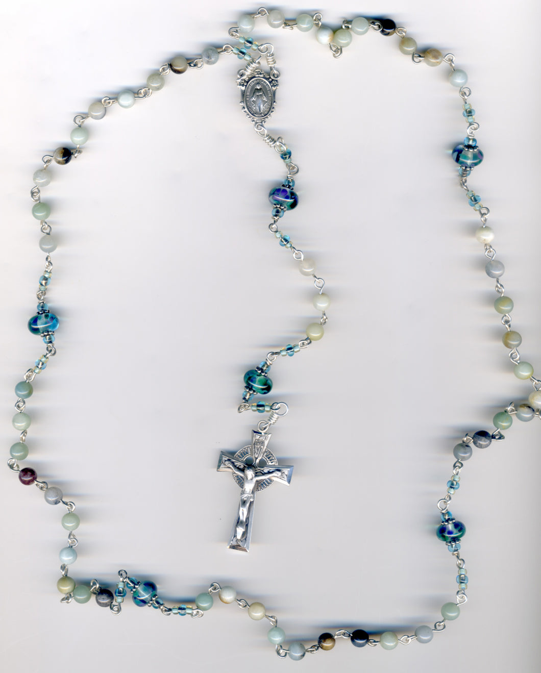 Natural Amazonite Rosary