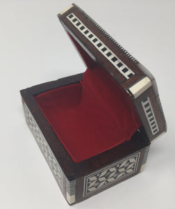 Mother of Pearl Rosary Box