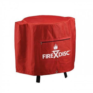 "Texas Custom Grills 105-107 24"" Red Firedisc Cooker Cover"
