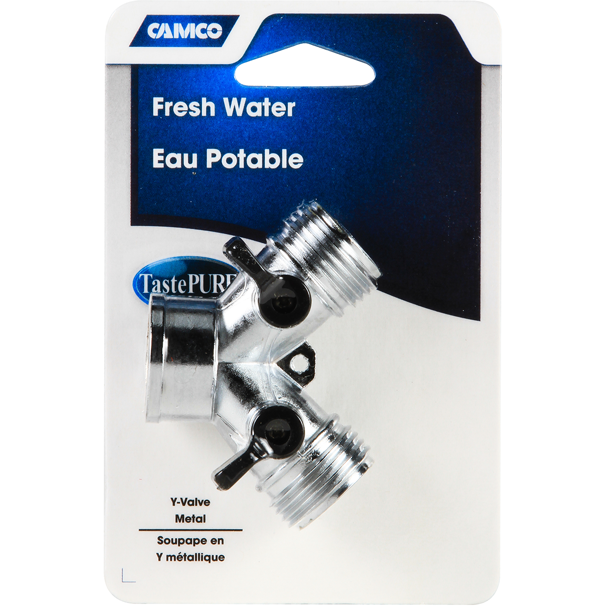 Camco 20113 Metal Y Shut-Off Valve