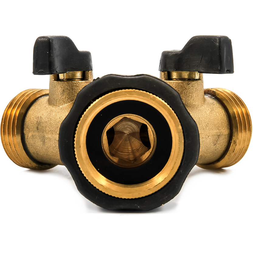 Camco 20123 Brass Y Shut-Off Valve