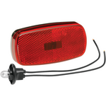 Bargman 30-59-003 Clearance Light #59 Red with Reflex w/Black Base