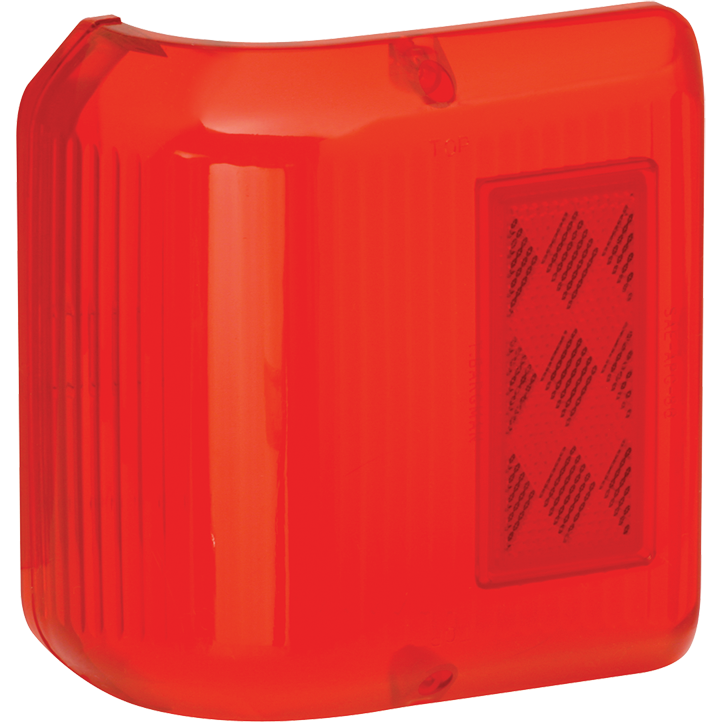 Bargman 34-86-711 Side Marker Clearance Light #86 Wrap-Around Lens Red