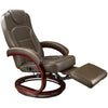 Lippert 3477222 Euro Chair in Brookwood Chesnut (D)